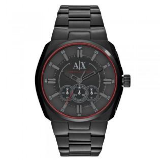 Armani Exchange AX1801 Men's Chronograph Black Ion Steel Watch