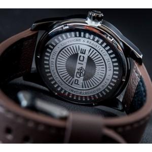 [100% Original] Police PL15410JSU/19 Men's Multifunction Quartz Brown Leather Strap Watch (watch for man / jam tangan lelaki / police watch for men / police watch / men watch / watch for men)