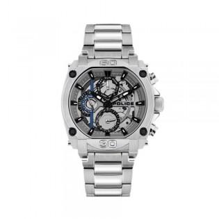 [100% Original] Police PL15472JS/13M Men's Multifunction Quartz Silver Stainless Steel Strap Watch (watch for man / jam tangan lelaki / police watch for men / police watch / men watch / watch for men)