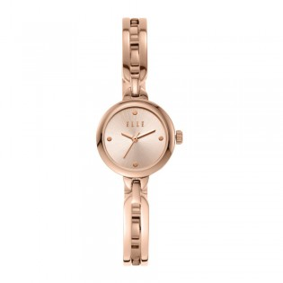 [Official Warranty] Elle ELL21003 Women's Wagram Analog Quartz Rose Gold Stainless Steel Strap Watch (watch for women / jam tangan perumpuan / elle watch for women / elle watch / women watch)