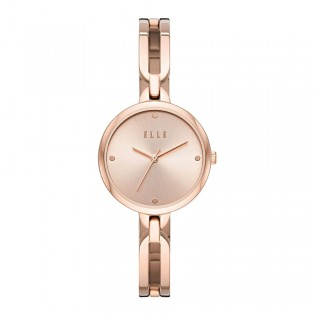 [Official Warranty] Elle ELL21014 Women's Wagram Analog Quartz Rose Gold Stainless Steel Strap Watch (watch for women / jam tangan perumpuan / elle watch for women / elle watch / women watch)