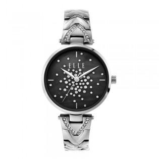 [Official Warranty] Elle ELL21041 Women's Grand Palais Analog Quartz Silver Stainles Steel Strap Watch (watch for women / jam tangan perumpuan / elle watch for women / elle watch / women watch)
