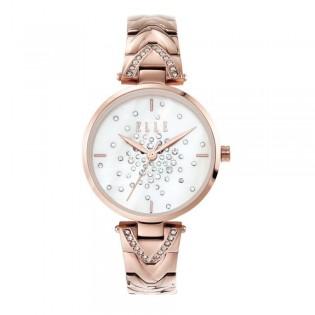 [Official Warranty] Elle ELL21043 Women's Grand Palais Analog Quartz Rose Gold Stainles Steel Strap Watch (watch for women / jam tangan perumpuan / elle watch for women / elle watch / women watch)
