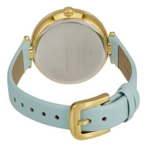 [Official Warranty] Kate Spade KSW1329 Women's Analog Quartz Holland Pinata White Dial Light Blue Leather Strap Watch (watch for women / jam tangan perumpuan / kate spade watch for women / kate spade watch / women watch)