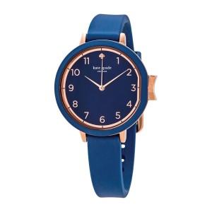 [Official Warranty] Kate Spade KSW1353 Women's Analog Quartz Park Row Blue Leather Strap Watch (watch for women / jam tangan perumpuan / kate spade watch for women / kate spade watch / women watch)