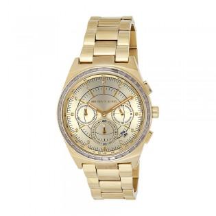 [Official Warranty] Michael Kors MK6421 Women's Chronograph Quartz Vail Rose Gold Dial Stainless Steel Strap Watch (watch for women / jam tangan perumpuan / michael kors watch for women  / women watch)