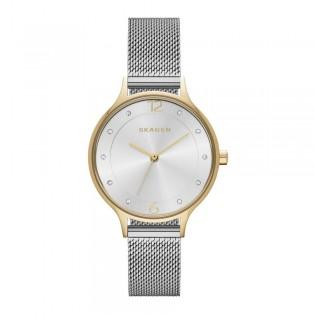 [Official Warranty] Skagen SKW2340 Women's Analog Quartz Anita Silver Dial Stainless Steel Strap Watch (watch for women / jam tangan perumpuan / skagen watch for women / skagen watch / women watch)