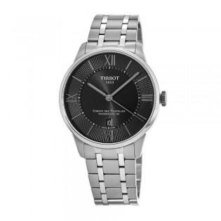 [Official Warranty] Tissot T099.407.11.058.00 Men's Chemin Des Tourelles Powermatic 80 Analog Automatic Black Dial Watch (watch for men / jam tangan lelaki / tissot watch for men / tissot watch / men watch)