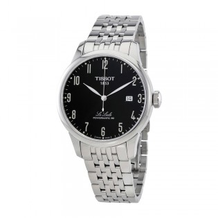 [Official Warranty] Tissot T006.407.11.052.00 Men's Le Locle Analog Automatic Black Dial Stainless Steel Strap Watch (watch for men / jam tangan lelaki / tissot watch for men / tissot watch / men watch)