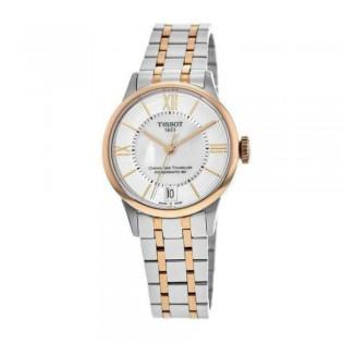 [Official Warranty] Tissot T099.207.22.118.02 Women's Chemin des Tourelles Automatic Mother of Pearl Dial Watch (watch for women / jam tangan perumpuan / tissot watch for women / tissot watch / women watch)