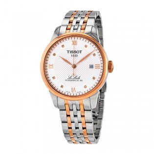 [Official Warranty] Tissot T006.407.22.036.00 Men's Le Locle Analog Automatic Silver Dial Stainless Steel Strap Watch (watch for men / jam tangan lelaki / tissot watch for men / tissot watch / men watch)