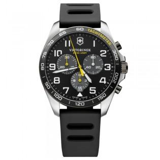 [Official Warranty] Victorinox Swiss Army 241892 Men's FieldForce Sport Chronograph Quartz Black Dial Black Rubber Strap Watch (watch for men / jam tangan lelaki / victorinox swiss army watch for men / victorinox swiss army watch / men watch)