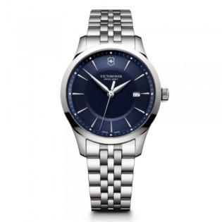 [Official Warranty] Victorinox Swiss Army 241802.1 Men's Alliance Analog Quartz Blue Dial Stainless Steel Strap Watch (watch for men / jam tangan lelaki / victorinox swiss army watch for men / victorinox swiss army watch / men watch)
