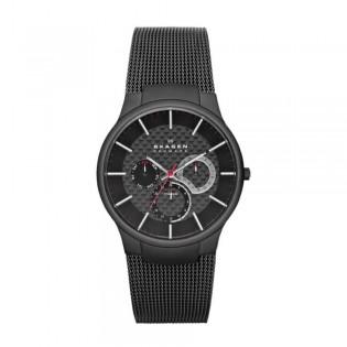 [Official Warranty] Skagen 809XLTBB Women's Analog Quartz Hagen White Dial Stainless Steel Watch (watch for women / jam tangan perumpuan / skagen watch for women / skagen watch / women watch)