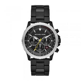 [Official Warranty] Michael Kors MK8643 Women's Theroux Chronograph Quartz Black Dial Watch (watch for women / jam tangan perumpuan / michael kors watch for women / mk watch / women watch)