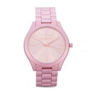 [Official Warranty] Michael Kors MK4456 Women's Slim Runway Quartz Watch with Metal Strap (watch for women / jam tangan perumpuan / michael kors watch for women / mk watch / women watch)