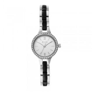 [Official Warranty] Elle ELL21039 Women's Alesia Three-Hand Stainless Steel Watch (watch for women / jam tangan perumpuan / elle watch for women / elle watch / women watch)