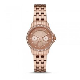 [Official Warranty] Elle ELL23012 Women's Bercy Rose Gold Dial Stainless Steel Watch (watch for women / jam tangan perumpuan / elle watch for women / elle watch / women watch)