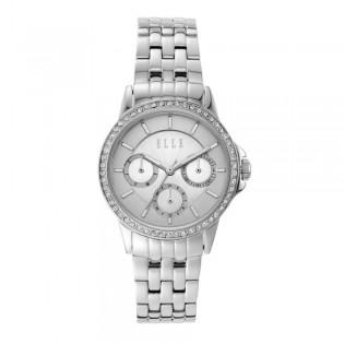 [Official Warranty] Elle ELL23011 Women's Bercy Silver Dial Stainless Steel Watch (watch for women / jam tangan perumpuan / elle watch for women / elle watch / women watch)