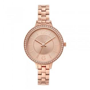 [Official Warranty] Elle ELL25005 Women's Opera Rose-Gold Stainless Steel Strap Watch (watch for women / jam tangan perumpuan / elle watch for women / elle watch / women watch)