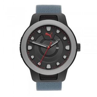 [Official Warranty] Puma P5022 Men's Reset V1 Three-Hand Reversible Nylon Watch (watch for men / jam tangan lelaki / puma watch for men  / men watch)