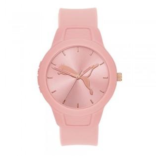 [Official Warranty] Puma P1023 Women's Reset V2 Three-Hand Pink Polyurethane Watch (watch for women / jam tangan perumpuan / puma watch for women  / women watch)