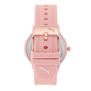 [Official Warranty] Puma P1023 Women's Reset V2 Three-Hand Pink Polyurethane Watch (watch for women / jam tangan perumpuan / puma watch for women  / women watch)