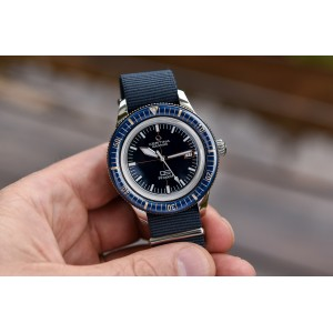[Official Warranty] Certina C036.407.18.040.00 Men's DS PH200M Automatic Blue Dial Nylon Strap Watch (watch for men / jam tangan lelaki / certina watch for men / certina watch / men watch)