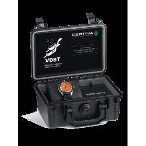 [Official Warranty] Certina C037.407.17.280.10 Men's DS Super PH500M Automatic Orange Dial Rubber Strap Watch (watch for men / jam tangan lelaki / certina watch for men / certina watch / men watch)