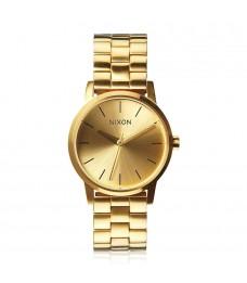 [Official Warranty] Nixon A361502 Women's Small Kensington Gold Stainless Steel Strap Watch (watch for women / jam tangan perumpuan / nixon watch for women  / women watch)