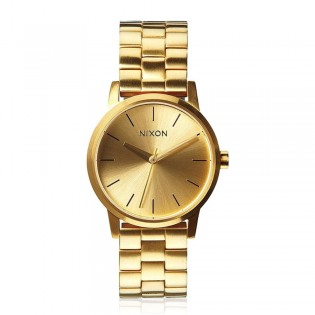 [Official Warranty] Nixon A361502 Women's Small Kensington Gold Stainless Steel Strap Watch (watch for women / jam tangan perumpuan / nixon watch for women  / women watch)