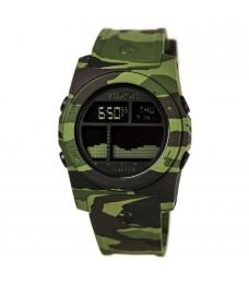 [Official Warranty] Nixon A3851695 Men's The Rhythm Black Digital Dial Green Camouflage Polyurethane Strap Watch (watch for men / jam tangan lelaki / nixon watch for men  / men watch)
