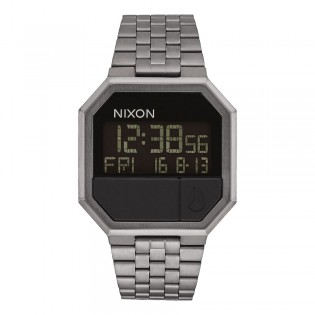 [Official Warranty] Nixon A158632 Men's RE-RUN Digital Dress Quartz Stainless Steel Strap WatchWatch (watch for men / jam tangan lelaki / nixon watch for men  / men watch)