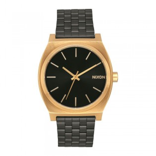 [Official Warranty] Nixon A0451604 Men's Time Teller Black Dial Stainless Steel Strap Watch (watch for men / jam tangan lelaki / nixon watch for men  / men watch)