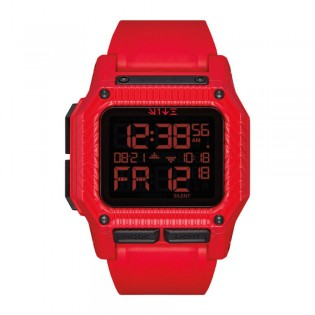 [Official Warranty] Nixon A1180SW3259 Men's Limited Edition Star Wars Sith Trooper The Regulus Digital Red Silicone Strap Watch (watch for men / jam tangan lelaki / nixon watch for men  / men watch)