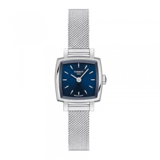 [Official Warranty] Tissot T058.109.11.041.00 Lovely Square Blue Dial Stainless Steel Strap Watch (watch for women / jam tangan perumpuan / tissot watch for women / tissot watch / women watch)