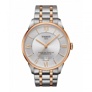 [Official Warranty] Tissot T099.407.22.038.02 Men's Chemin Des Tourelles Powermatic 80 Stainless Steel Strap Watch (watch for men / jam tangan lelaki / tissot watch for men / tissot watch / men watch)