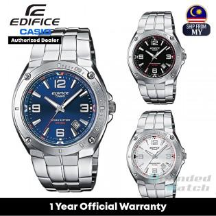 [Official Warranty] Casio Edifice EF-126 Series Men's Analog Quartz Stainless Steel Strap Watch EF-126D-1A EF-126D-2A EF-126D-7A