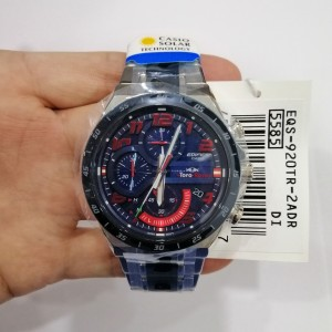 [Official Warranty] Casio Edifice EQS-920TR-2A Men's Scuderia Toro Rosso Limited Edition Watch