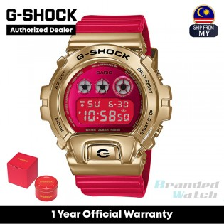 [OFFICIAL CASIO WARRANTY] Casio G-Shock GM-6900CX-4 Chinese New Year 2021 Limited Edition (watch for man / jam tangan lelaki / casio watch for men / casio watch / men watch / watch for men / jam digital / g shock original)