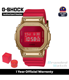 [OFFICIAL CASIO WARRANTY] Casio G-Shock GM-5600CX-4 Chinese New Year 2021 Limited Edition (watch for man / jam tangan lelaki / casio watch for men / casio watch / men watch / watch for men / jam digital / g shock original)