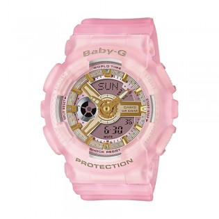 [Official Warranty] Casio Baby-G BA-110SC-4A Women's Special Color Models Pink Watch (watch for women / jam tangan perumpuan / casio baby-g watch for women / casio baby-g watch / women watch)