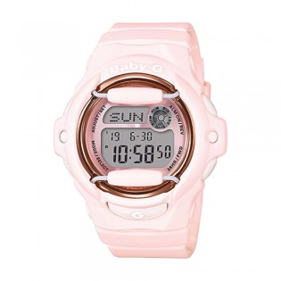 [Official Warranty] Casio Baby-G BG-169G-4B Women's Digital Pink Strap Watch (watch for women / jam tangan perumpuan / casio baby-g watch for women / casio baby-g watch / women watch)