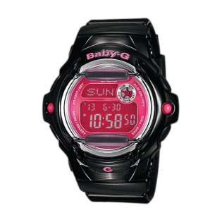 [Official Warranty] Casio Baby-G BG-169R-1B Women's Digital Pink Dial Black Strap Watch (watch for women / jam tangan perumpuan / casio baby-g watch for women / casio baby-g watch / women watch)