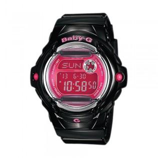[Official Warranty] Casio Baby-G BG-169R-1B Women's Digital Pink Dial Black Strap Watch (watch for women / jam tangan perumpuan / casio baby-g watch for women / casio baby-g watch / women watch)