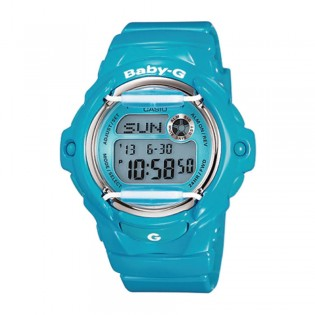 [Official Warranty] Casio Baby-G BG-169R-2B Women's Digital Blue Dial Blue Strap Watch (watch for women / jam tangan perumpuan / casio baby-g watch for women / casio baby-g watch / women watch)