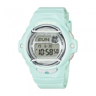 [Official Warranty] Casio Baby-G BG-169R-3D Women's Digital Green Strap Watch (watch for women / jam tangan perumpuan / casio baby-g watch for women / casio baby-g watch / women watch)