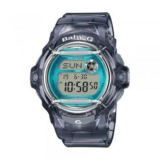 [Official Warranty] Casio Baby-G BG-169R-8B Women's Digital Black Transparent Resin Watch (watch for women / jam tangan perumpuan / casio baby-g watch for women / casio baby-g watch / women watch)