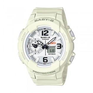 [Official Warranty] Casio Baby-G BGA-230-7B2 Women's Digital Analog White Strap Watch (watch for women / jam tangan perumpuan / casio baby-g watch for women / casio baby-g watch / women watch)