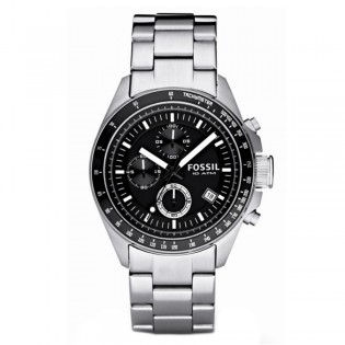 Fossil CH2600 Men's Decker Chronograph Quartz Steel Watch